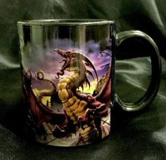 Designer-Tom-Wood-Ceramic-Coffee-Mug-Unleash-The-Dragon-Gothic-Fantasy