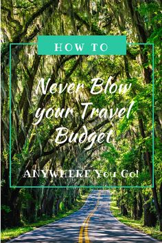 Travelling is exciting and it's easy to just go fir it and do everything within your reach. But the last thing you want to do is run out of money! So here is my guide on how to Never Blow your Budget ANYWHERE you go! Travel Advice, Travel Tips, Travel Hacks, Solo Travel, Travel Destinations, Cheap Travel, Budget Travel, Travel Pictures, Travel Photos