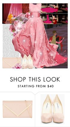 """once upon a dream"" by xoxlaughingchik ❤ liked on Polyvore featuring Oris, Disney, Oscar de la Renta, ALDO, Brian Atwood, women's clothing, women, female, woman and misses"
