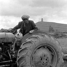 Photo: John Gay Man And Dog, English Heritage, Vintage Dog, Dog Photos, Monster Trucks, Gay, Black And White, Ley Lines, Dogs