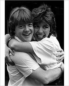 Keith Chegwin and Maggie Philbin