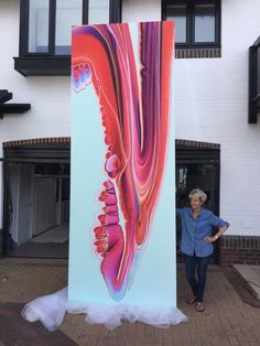 "Nancy wood on Twitter: ""Liquid Assets Huge artwork ready to deliver to the new Daisy Green restaurant opening 18th October, Victoria, London https://t.co/NeLJgyn6uu https://t.co/fRq2Txv1vc""♥♥"