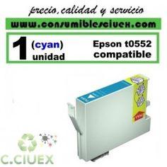 CARTUCHO COMPATIBLE EPSON T0552