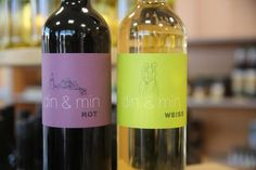 """Eigens für #Demmin hergestellter #Wein """"din & min"""" Foto: Georg Wagner / NK #meckpomm #trinken #kulinarik #vorpommern #mv"""