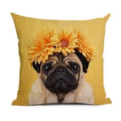 Animal Cushion Cover Dog For Children Christmas Decorative For Sofa Throw Pillow Car Chair Pillow