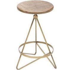Spray base of stools gold?