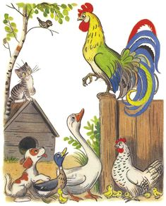 Kids Story Books, Stories For Kids, Antique Illustration, Illustration Art, Free Adult Coloring Pages, Ukrainian Art, Mural Painting, Whimsical Art, Bird Art