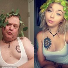 SPOKANE, WA (WCMH) – A dad fed up with his daughter's racy selfies is trying to teach her a lesson by recreating them himself. Comedian and radio host Chris Martin tells KHQ-TV he wasn't happy to s… Duckface, Usain Bolt, Chris Martin, Funny Memes, Hilarious, Jokes, Selfie Sexy, Thing 1, Dad Daughter