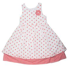 From one of my favourite kids' labels: Phoebe & Floyd. Kids Labels, Polka Dot Top, Girls Dresses, My Favorite Things, Children, Tops, Women, Fashion, Dresses Of Girls