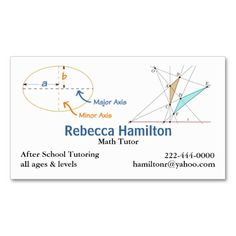Math equations blackboard maths tutor teacher business card stylish math tutor teachers business card flashek Images