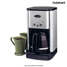 Cuisinart Brew Central 12-Cup Brushed Metal Coffeemaker at 70% Savings off Retail!