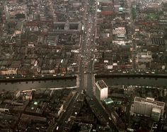 O'Connell St & the Liffey, Dublin Ireland :: May 1966