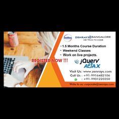 Software Training in Bangalore! #angularjs #php #webdevelopment #testing #python #java #javascript #springhibernate #jqueryajax #koramangala