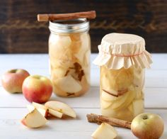 Lacto-Fermented Cinnamon Apples.  A sweet and spicy probiotic food.