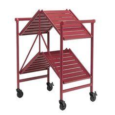 Cosco Indoor / Outdoor Folding Serving Cart: Shopko