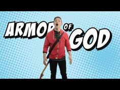 This song helps us remember to put on the full armor of God (Ephesians and stand strong against the evil one. By KidSpring Worship. Preschool Bible, Bible Activities, Church Activities, Primary Activities, Homeschooling Resources, Children Activities, Bible Study For Kids, Bible Lessons For Kids, Kids Bible