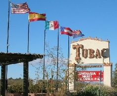 Tubac, Arizona - fun place to visit, especially if you have friends in Green Valley, Arizona!