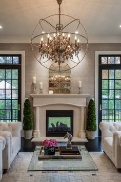10+ Ideas to Decorate with Chandeliers!