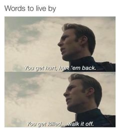 Badass Steve Rogers.<< yes thank you for showing Pietro on screen when he said 'you get killed?' that really fucking helped