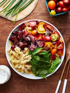 Recipe: BLT Pasta Salad — Quick and Easy Weeknight Dinners