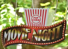 Family Movie Night | CatchMyParty.com