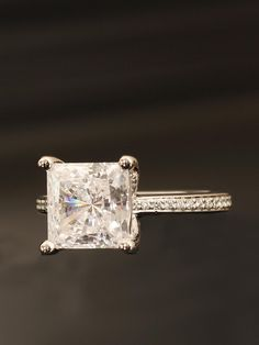 This is beautiful. Would have to have a decent size diamond to pull of this setting. Ritani - Engagement Ring - at - London Jewelers