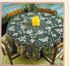 World crochet: Tablecloth 181