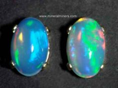Opal Jewelry: natural boulder opal jewelry and other precious opal jewelry