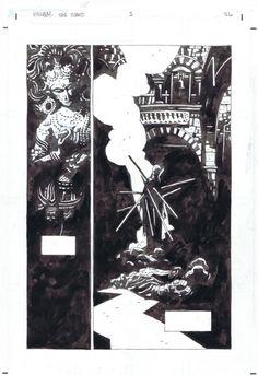Mignola, Mike - Hellboy The Island # 1 page 26 Comic Art