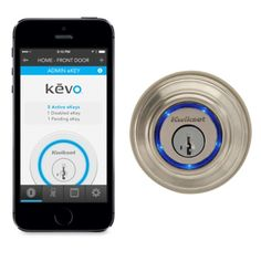 Kwikset Kevo Wireless-Enabled Deadbolt Lock - Apple Store