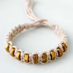 Bracelet en nœuds
