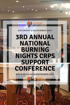3rd Annual National Burning Nights CRPS Support Conference Summary