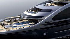 laraki yacht design   ... - Decks - Laraki Yacht Design's New 163m motor yacht PRELUDE
