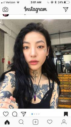 19 ideas for womens face tattoo asian