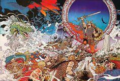 Jim Fitzpatrick :Nuada The High King [1978]
