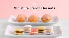 Make popular miniature French desserts — from macarons to madeleines — and master accessible pastry techniques that will transform your baking! French Desserts, Mini Desserts, Dessert Recipes, Cake Recipes, Lemon Curd Filling, Baking Classes, Bowl Cake, Pecan Nuts, French Pastries