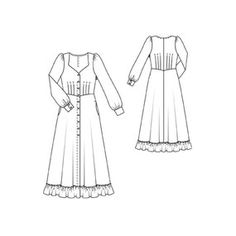 I would so love to make a Gunne Sax-style dress, though it goes against all my current wardrobe resolutions. Burdastyle 10/2011 #129.
