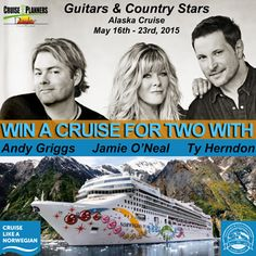 Win a Cruise with Ty Herndon, Andy Griggs, and Jamie O'Neal! http://virl.io/LzIfCzF