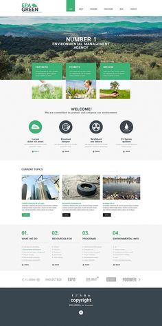 Best 12 Environmental & Clean Energy WordPress Themes (Solar, Wind and Recycling) - Environmental (template) Item Picture