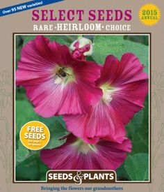 69 Free Seed and Plant Catalogs: Select Seeds Seed Catalog