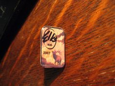 B.P.O.E. Lapel Pin - 2007 American Elks Grand Lodge Club USA Member Hat Pin