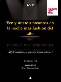 TOUS en la FNO 2012 en Antara Fashion Hall