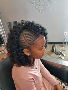 Crochet braids for kids hairstyles black women Ideas for 2019 Kids Crochet Hairstyles, Lil Girl Hairstyles, Black Girl Braided Hairstyles, Natural Hairstyles For Kids, Crochet Hair Styles, Black Children Hairstyles, Teenage Hairstyles, Gorgeous Hairstyles, Hairstyles Pictures