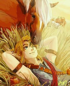 Link and the best horse of the world