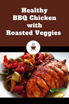 Chicken breast is one of the most popular healthy foods. Check out this recipe for a healthy BBQ chicken with roasted veggies recipe.  Image: YouTube video