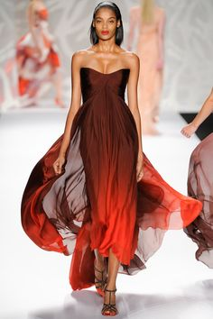 Monique Lhuillier Spring 2014 Ready-to-Wear Collection