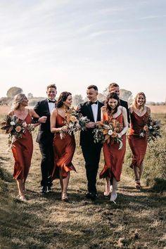 Copper Bridesmaid Dresses, Backless Bridesmaid Dress, Bridesmaid Dress Colors, Wedding Bridesmaids, Bridesmaid Gowns, Sage Wedding, Boho Wedding, Rustic Wedding, Dream Wedding