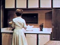 Home Manager ~ Day in the Life of a Kitchen - early 1960's - The Stay Home Mom - YouTube - vintage housewife, homemaker
