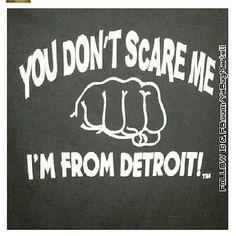 Detroit, love it!