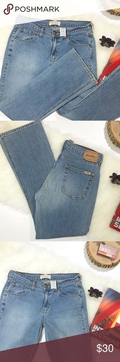 Vintage Faded Levi's Flared legs Vintage Levi's in light wash. Flared legs with some stretch. Boot cut Misses Size 10 no flaws gently loved condition Signature by Levi Strauss Pants Boot Cut & Flare